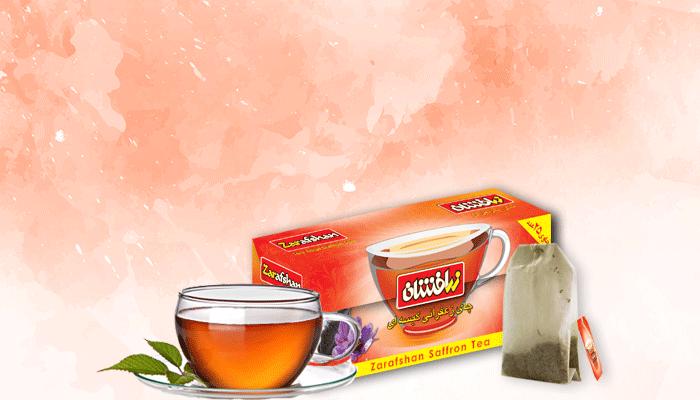 چای کیسه ای زرافشان